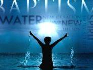 Die Lehre über die Taufen aus hebräischer Sicht